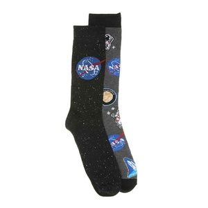 NASA MEN'S CREW SOCKS - 2 PACK